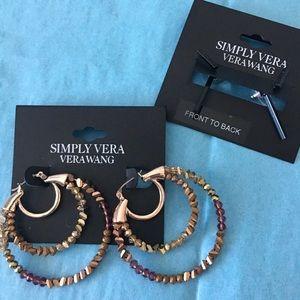 🆕 Simply Vera Vera Wang Earring gift set